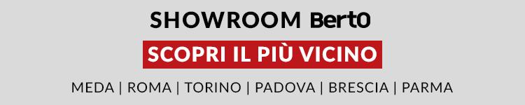 Scopri tutti gli showroom Berto Salotti