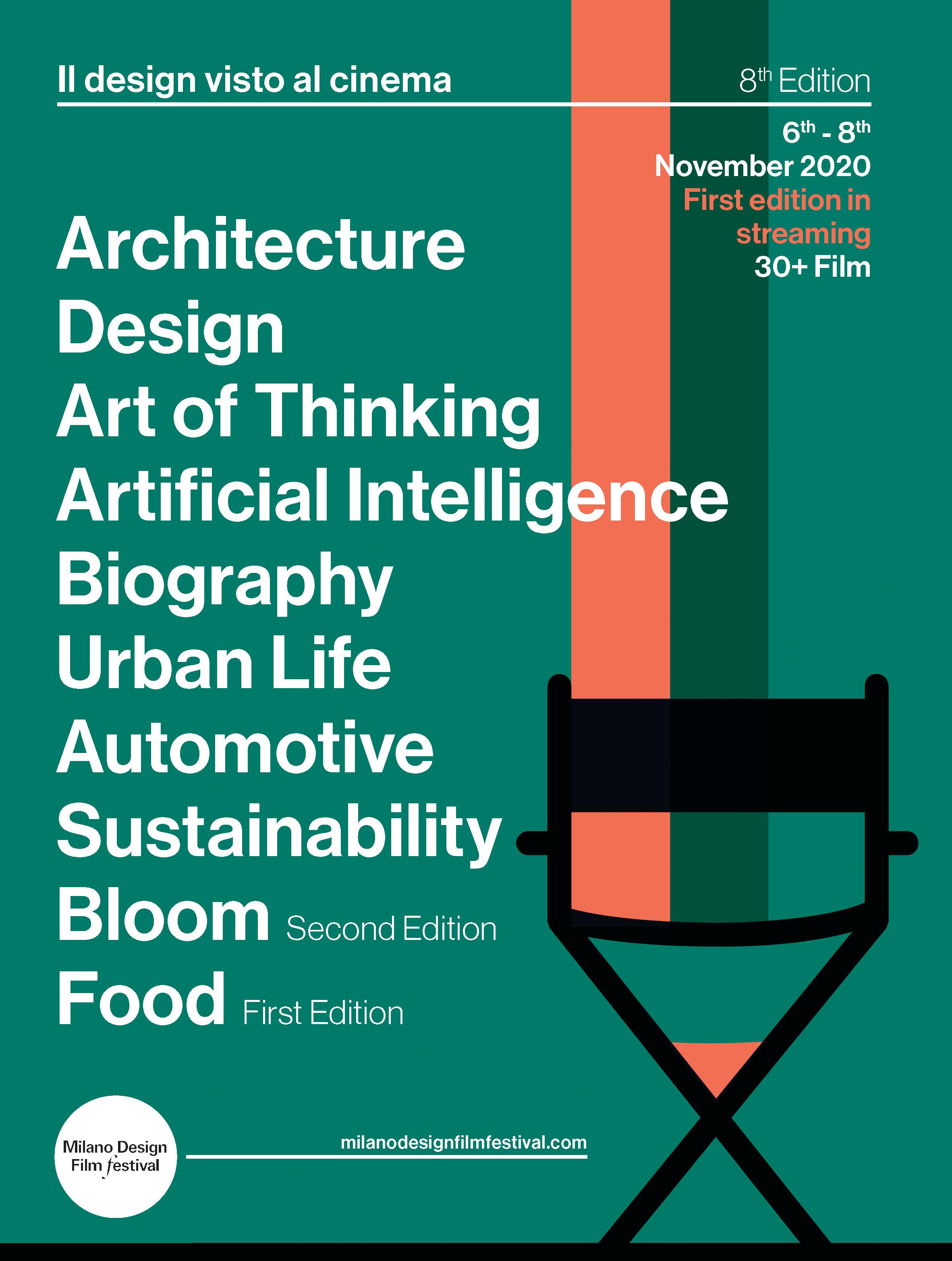 Póster Milano Design Film Festival