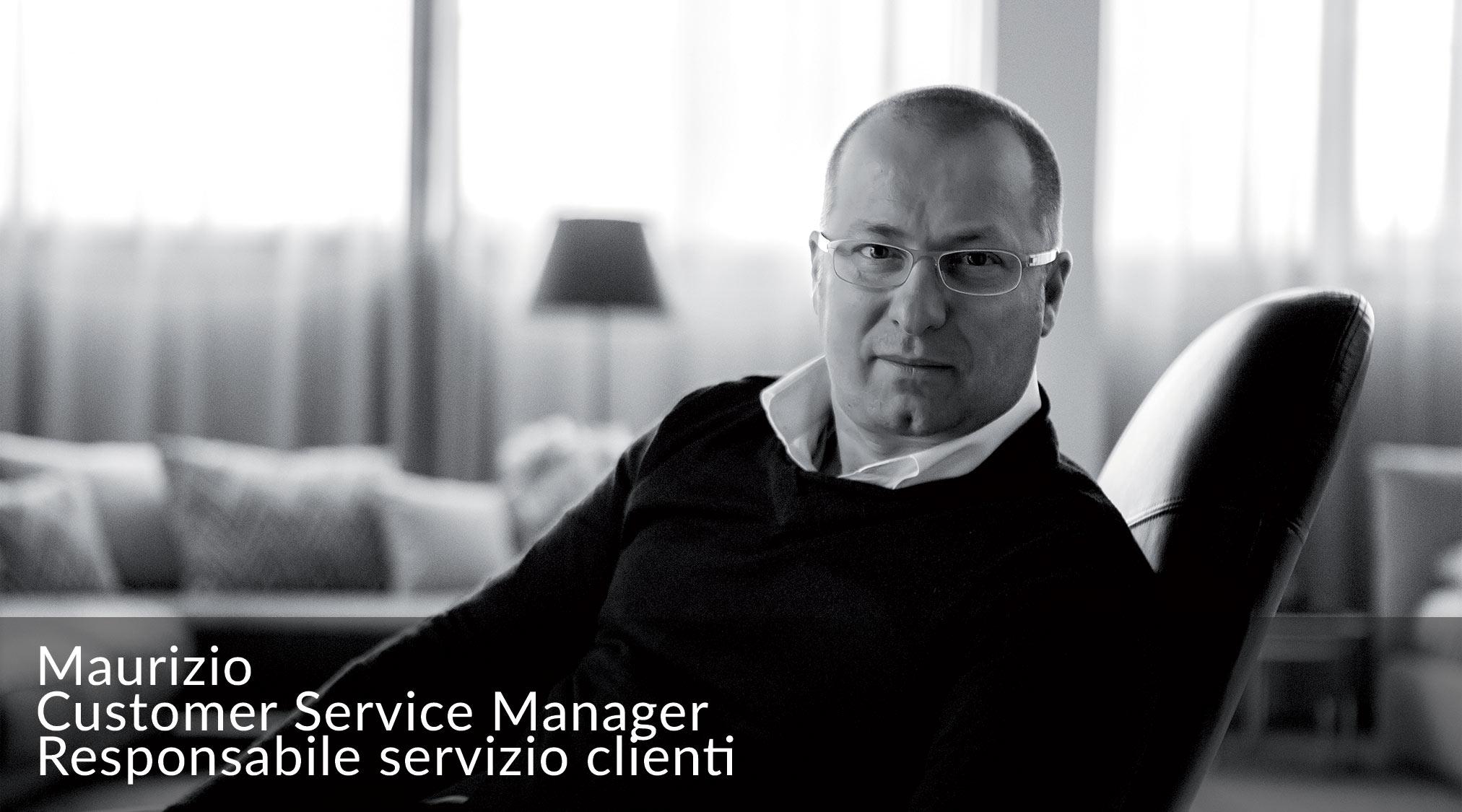 Maurizio - Responsabile Servizio Clienti BertO