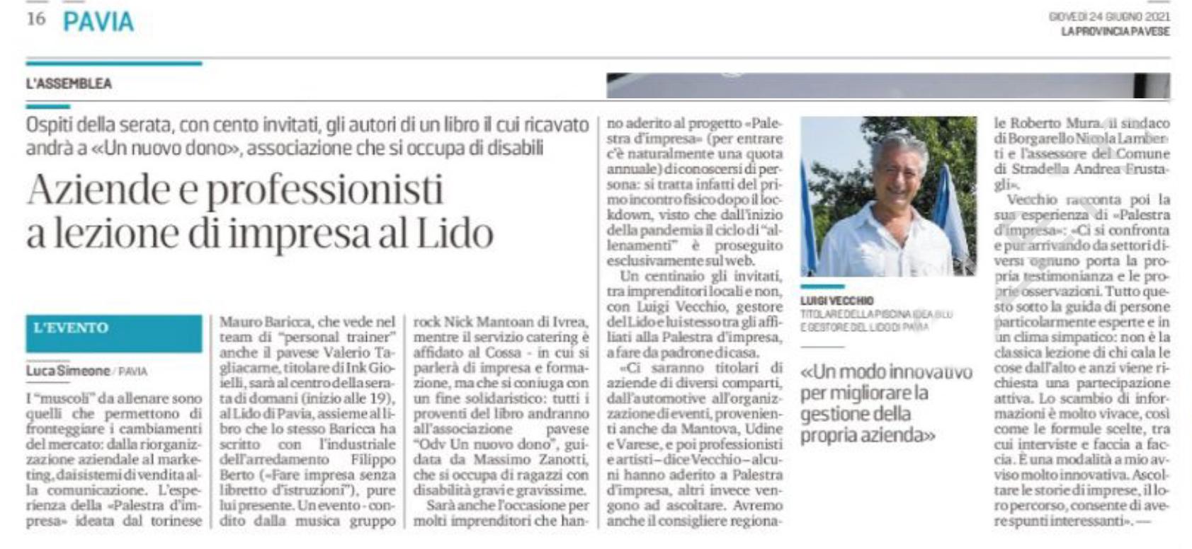 La Provincia Pavese - articolo
