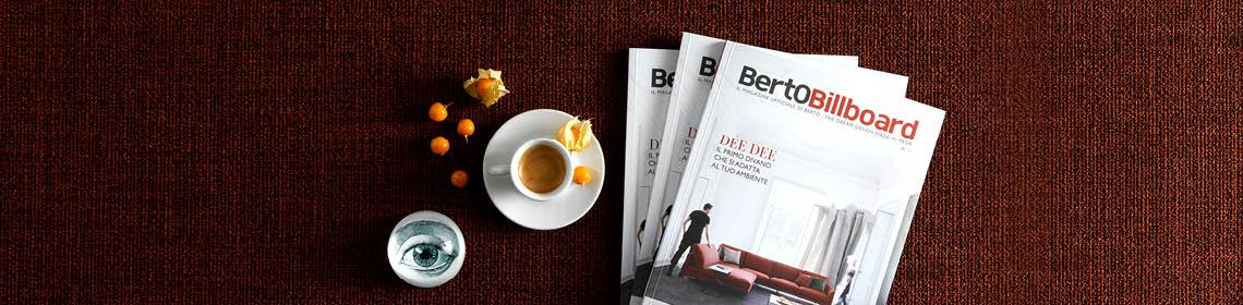 BertoBillboard il magazine di design BertO