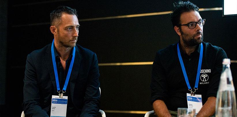 filippo berto tra i grandi del design al Netcomm Fashion & Lifestile Milano 2019