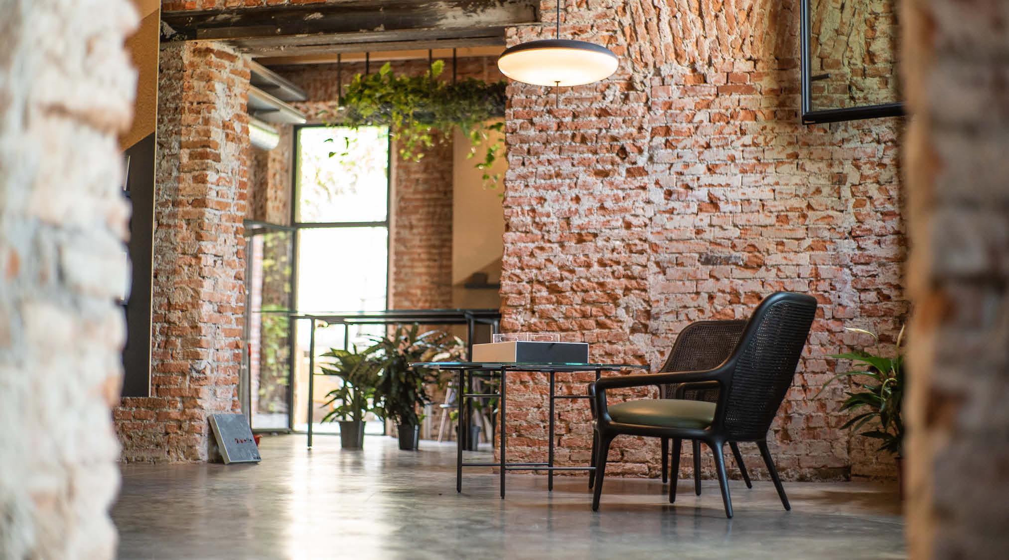 Sala de BertO Studio - LOM Milán