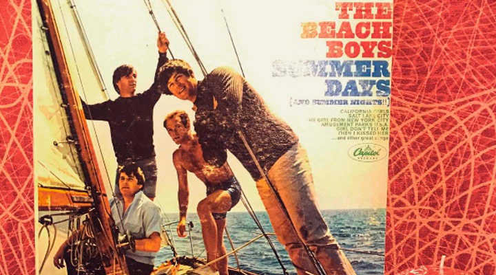 beach boys LP - summer days