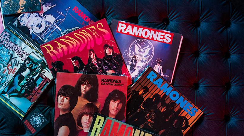 #Bertolive: vinili dei Ramones