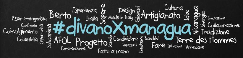 Logo #DivanoxManagua - Crowdcrafting by Berto Salotti