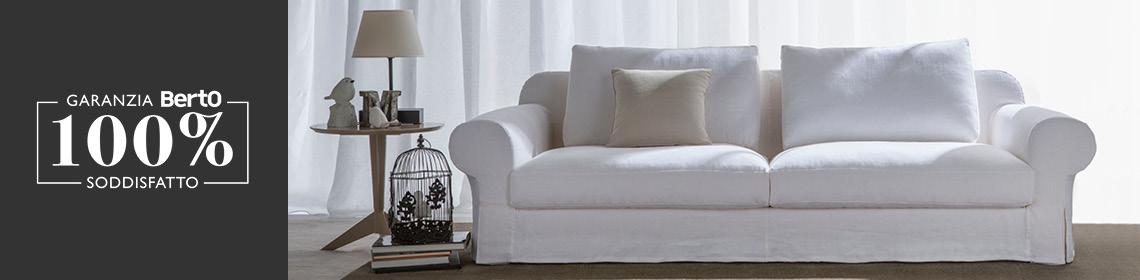 Garanzia 100% Soddisfatto BertO per l'acquisto del tuo divano College