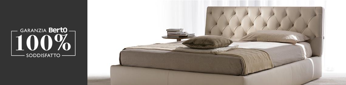 Con la Garanzia 100% Soddisfatto BertO acquisti il tuo nuovo letto Tribeca in sicurezza
