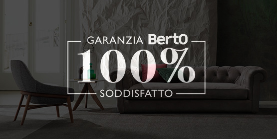 Garanzia 100% Soddisfatto BertO per il tuo divano Chesterfield Kensington