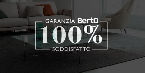 Acquista il tuo tavolino Riff con la Garanzia 100% Soddisfatto BertO
