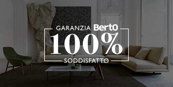 Garanzia 100% Soddisfatto BertO per il tuo nuovo letto Chester Classic
