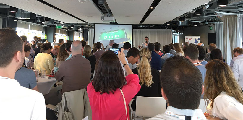 filippo berto in dublin for the program Google,A Growth Engine for Europe