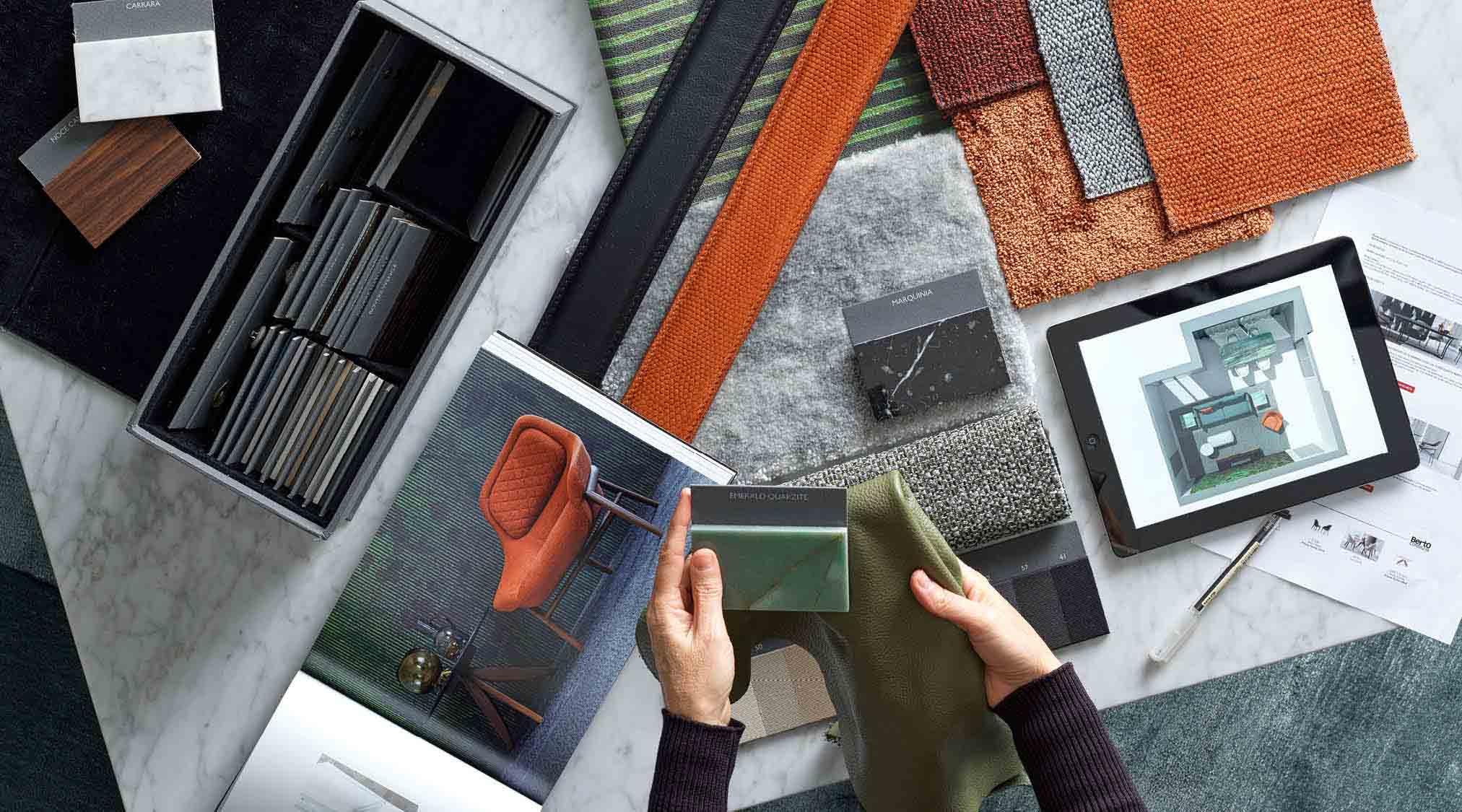 Servizio Progettazione Interior Design - Showroom BertO Brescia in Borgo Pietro Wuhrer 35-37