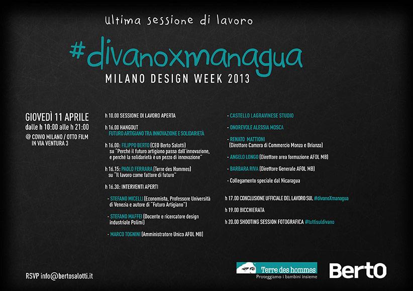 Fuorisalone #DivanoxManagua 2013