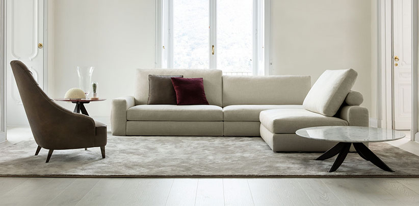 Joey sectional sofa sport and comfort version