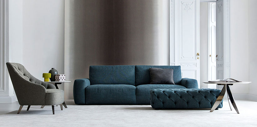 Johnny fabric modern sofa