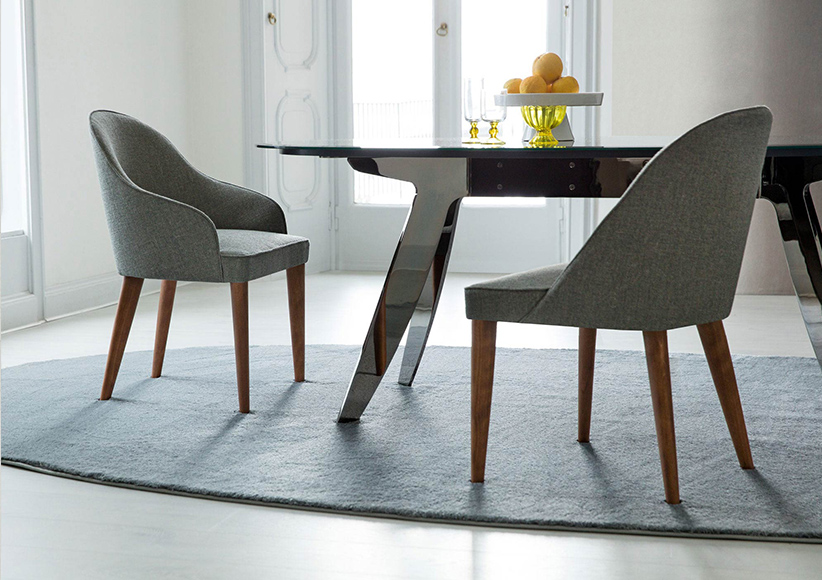 sedia e tavolo da pranzo berto salotti