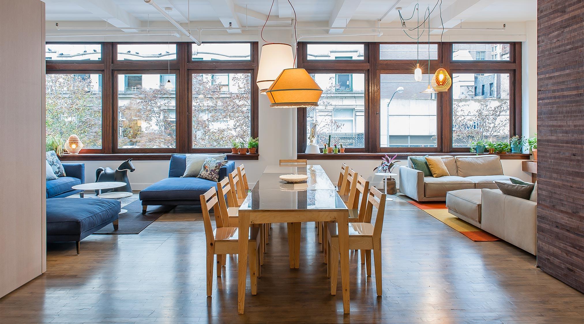Living showroom Design Apart