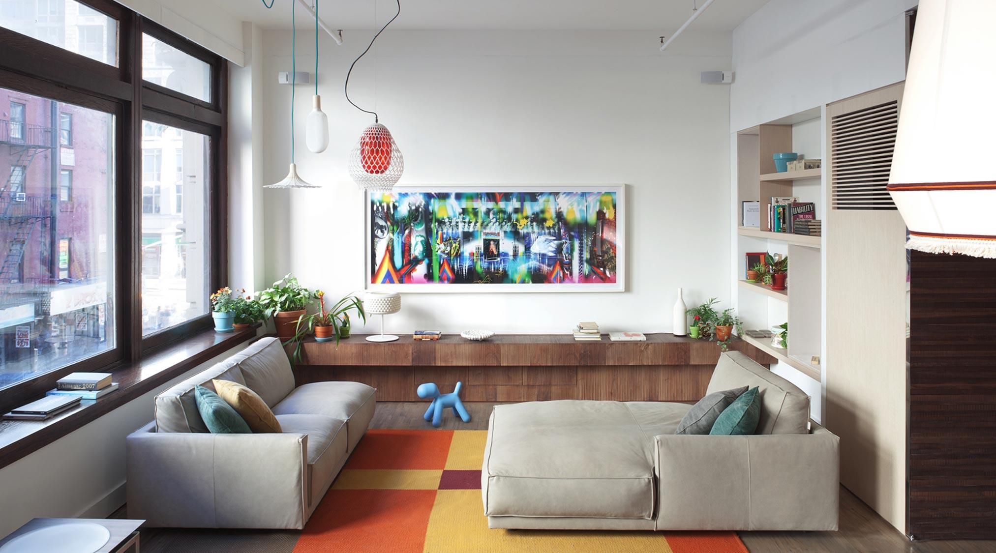Divani Ribot - Living Showroom Design Apart