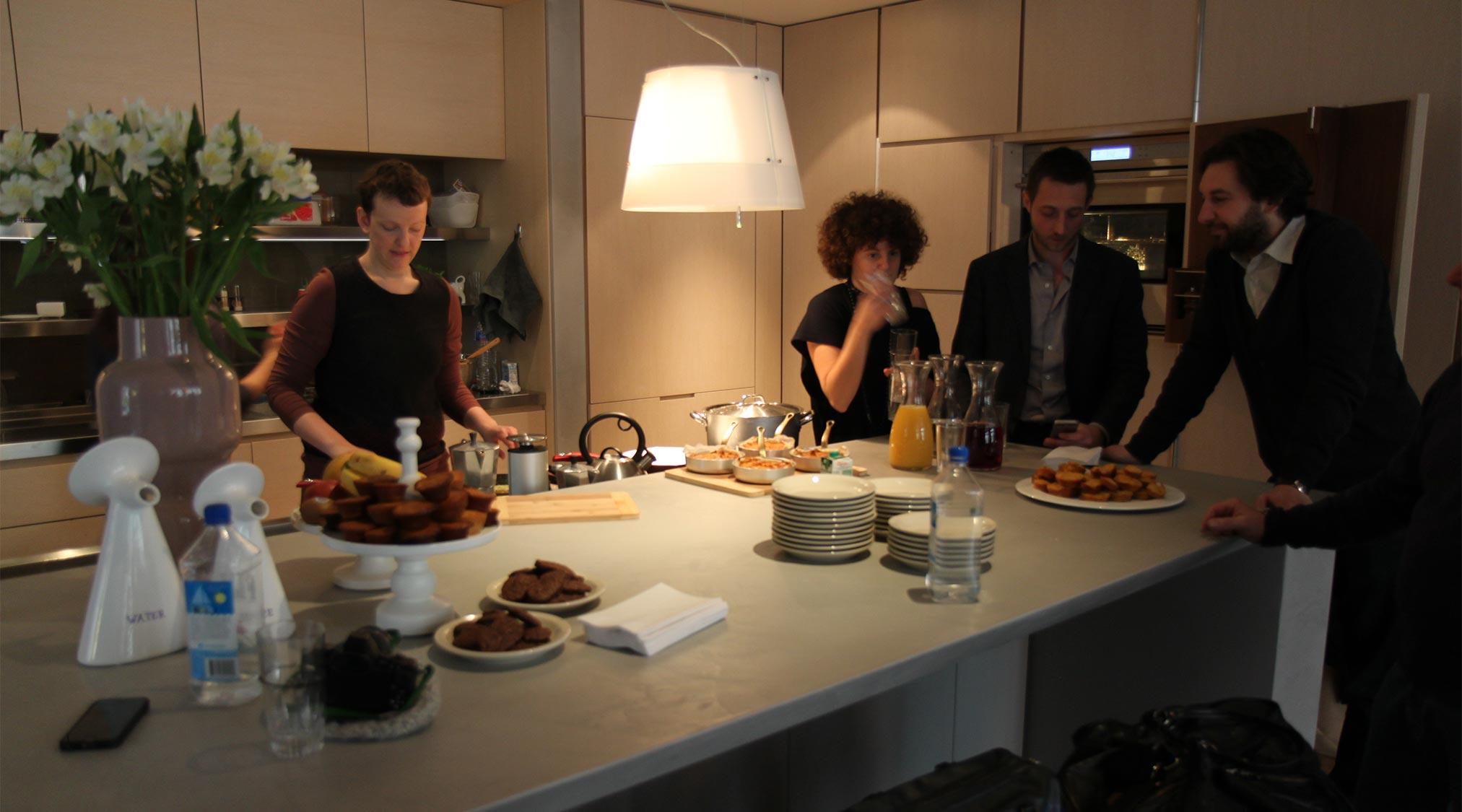 Living Showroom Design Apart - cucina