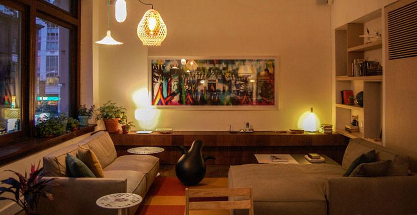 Living Showroom Design Apart - New York