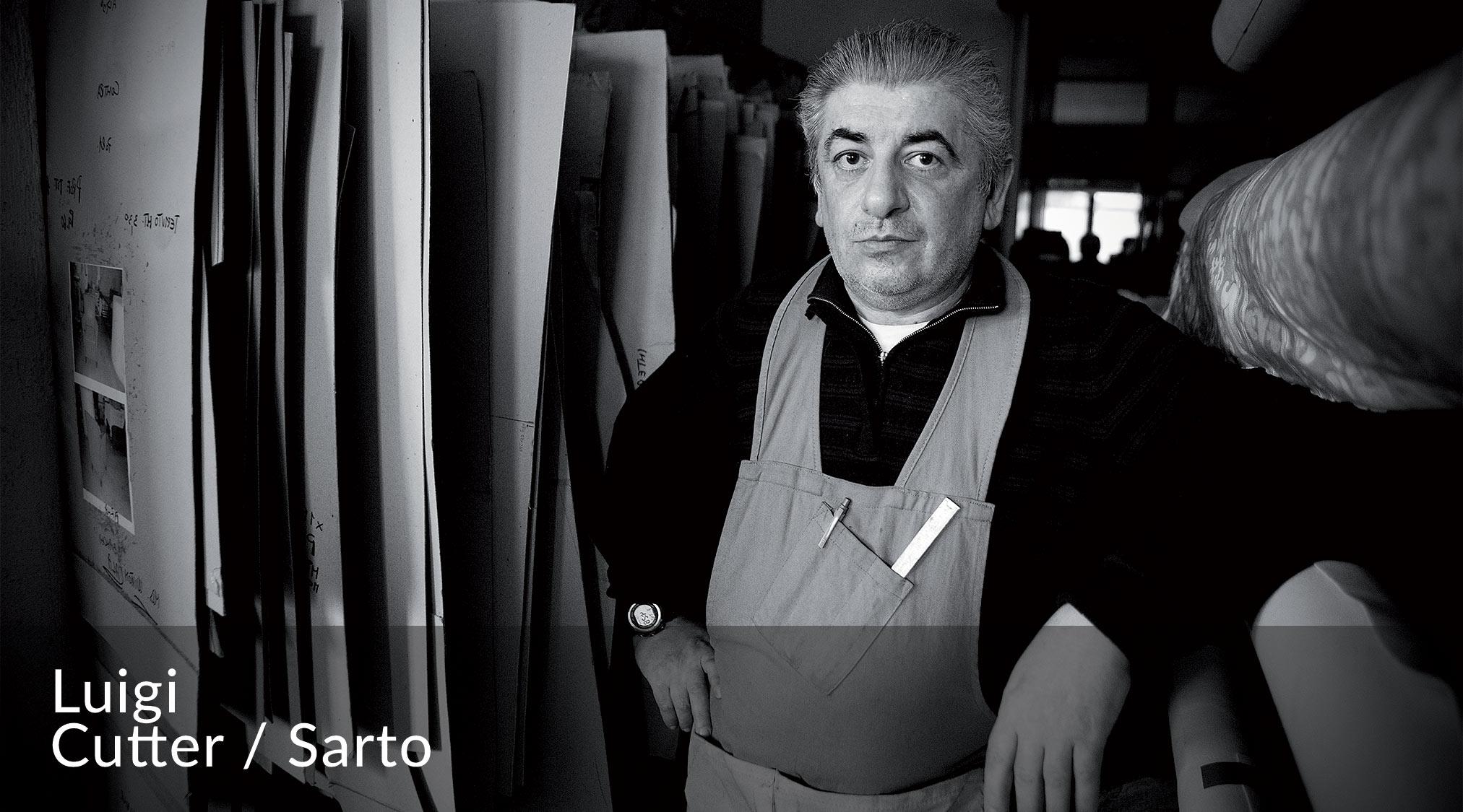 Luigi - Sarto del Team BertO