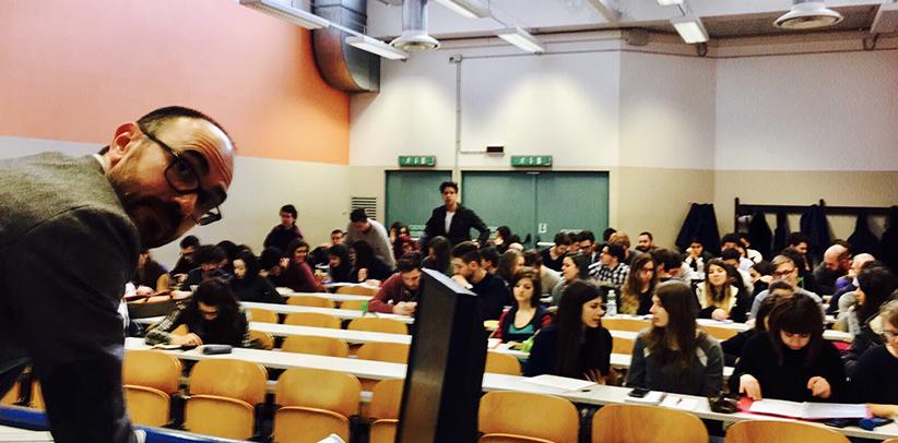 Filippo Berto presenta il caso BertO all'Università di Padova