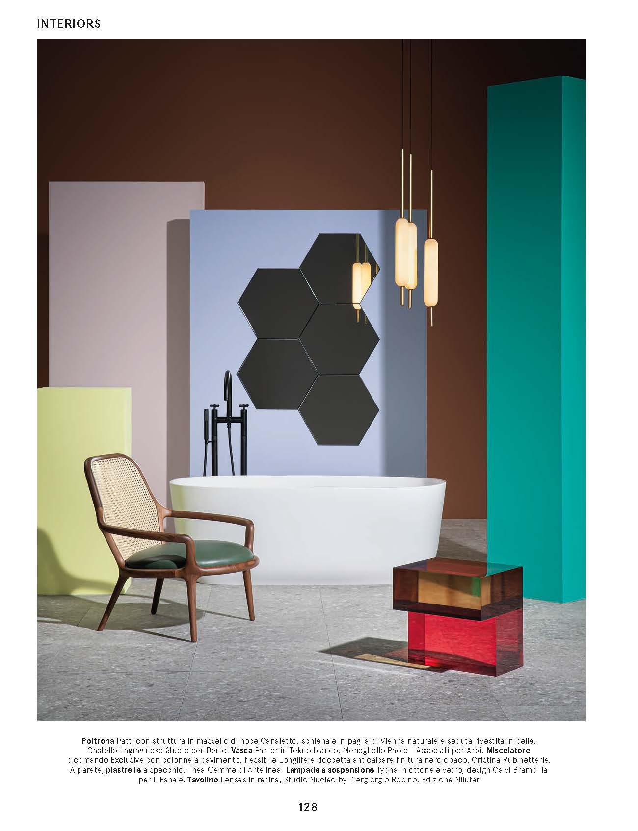 El sillón Patti de BertO en Living - Corriere della Sera