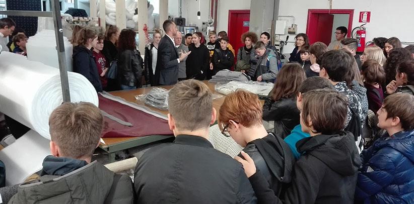 laboratorio berto meda aperto agli studenti delle medie per professione legno