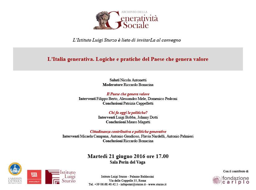 Filippo Berto racconta il caso studio BertO all'istituto luigi sturzo di Roma