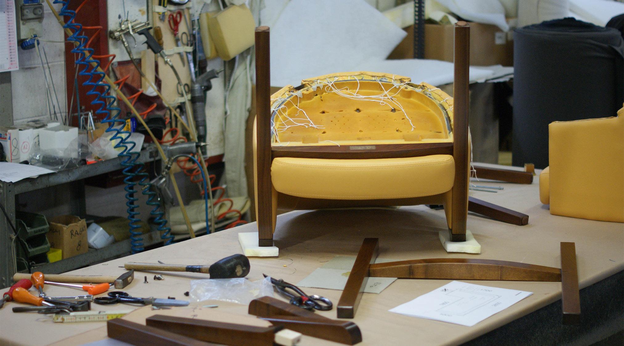 Rénovation canapé - Berto Salotti