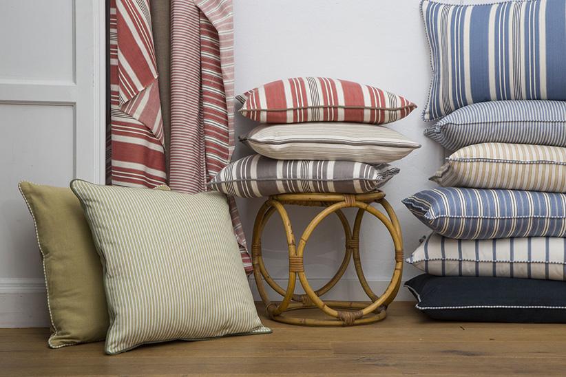 tessuti per divani, cuscinetti, poltrone lamadrid