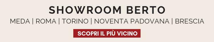 Scopri gli showroom Berto Salotti