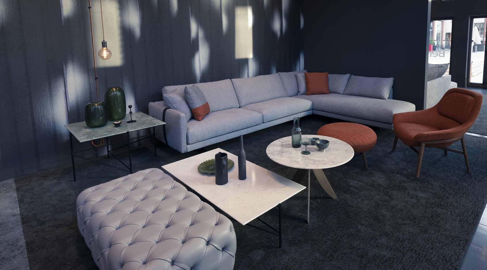 Ambienti di design Showroom Berto Salotti Brescia