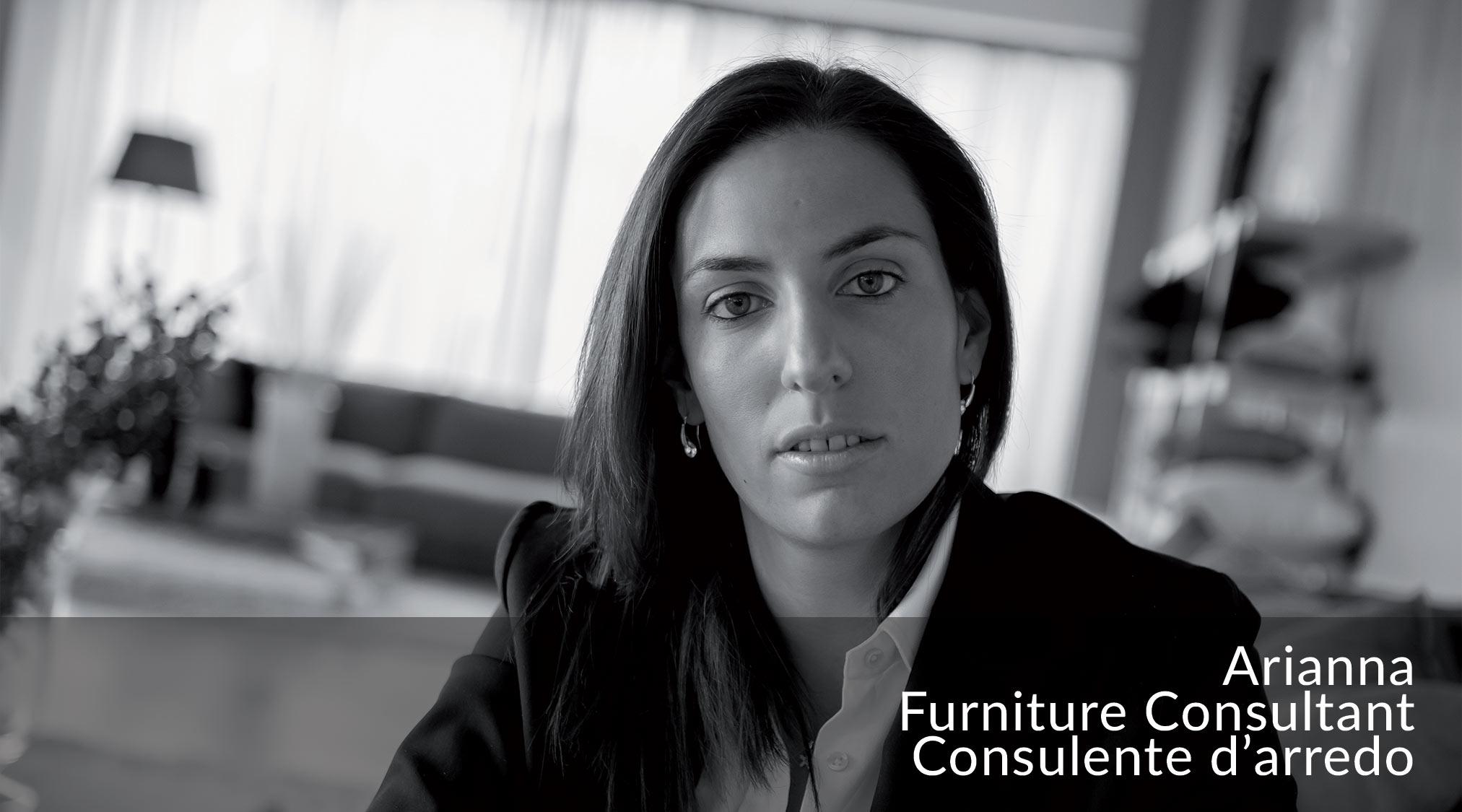 Arianna - Consulente d'arredo del Team BertO