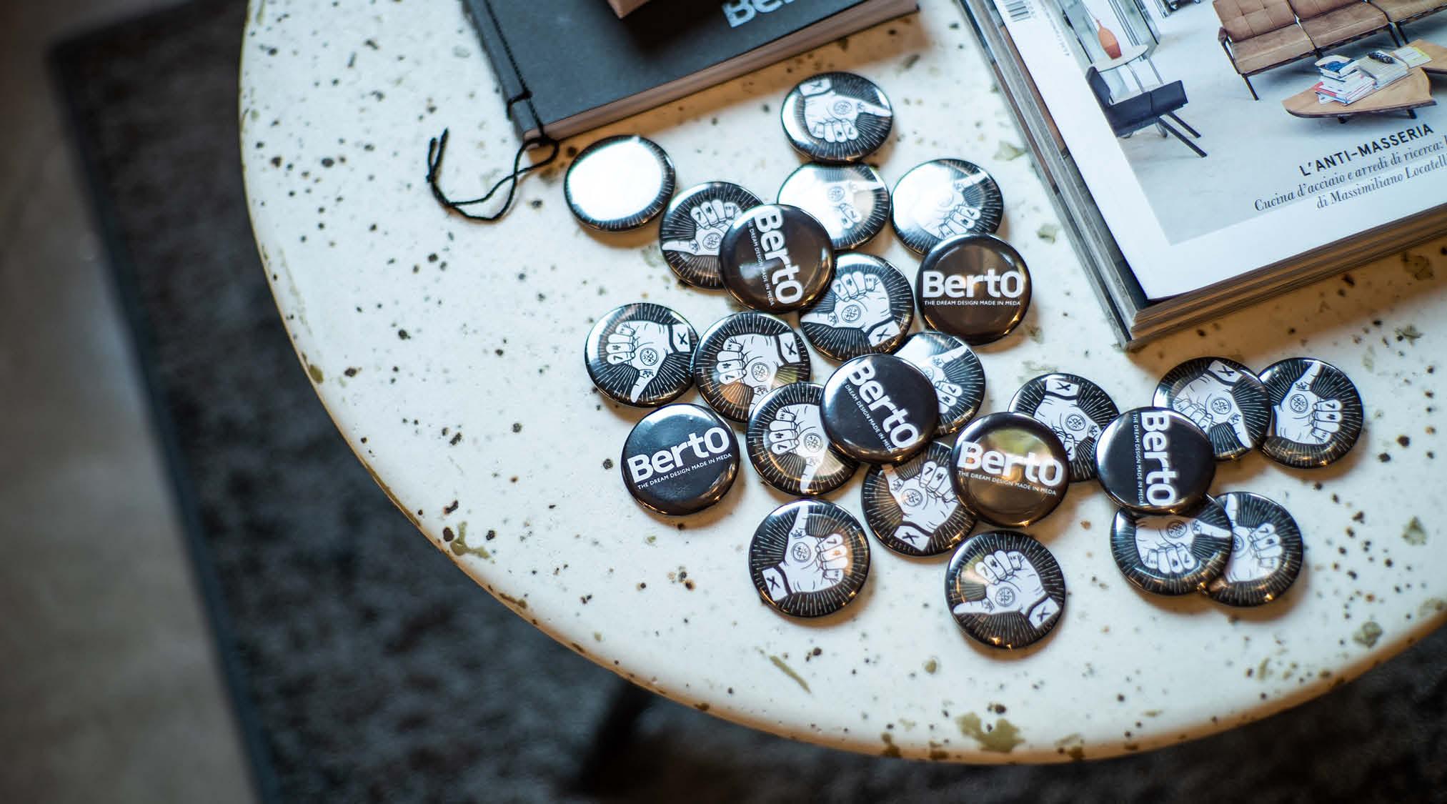 Mesa de centro Circus de BertO nuevos materiales